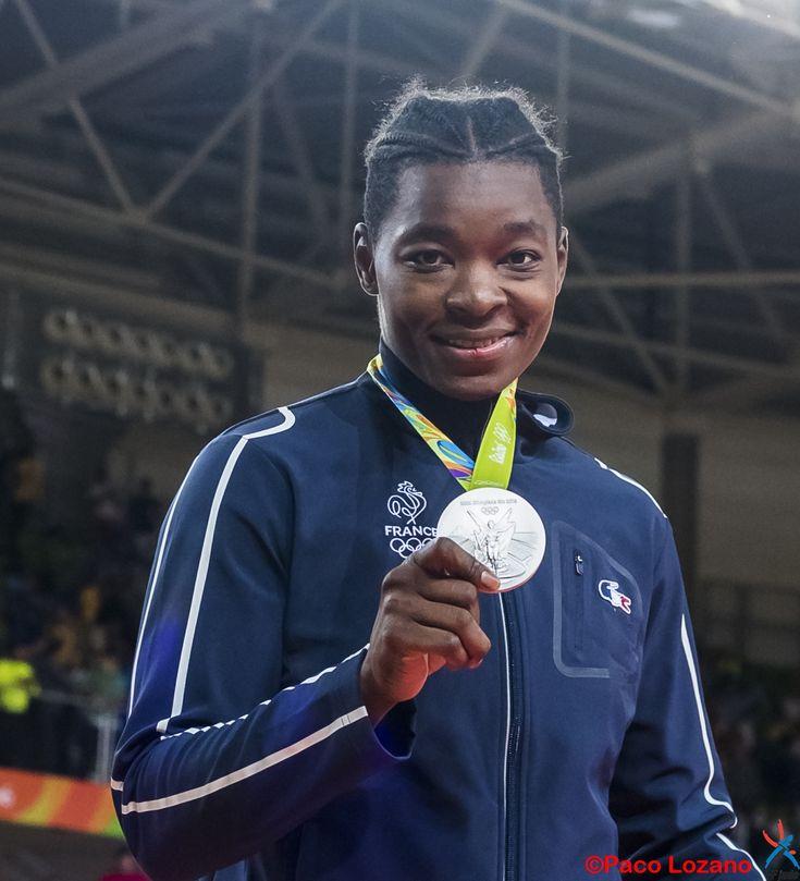 En judo, l'argent avec Audrey Tcheuméo aux JO de Rio 2016