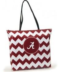 Alabama Crimson Tide Chevron Tote Bag, get it at TotallyCollegiate.com!