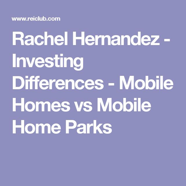 42 Best Mobile Home Park Investing Images On Pinterest