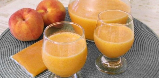 Diabetic Fresh Peach Juice Recipe recipe | Peach is rich in potassium which helps maintain good health and prevent high blood pressure. Raw Peach juice does not only have a high Vitamin content but also provides great cardiovascular benefits. - Foodista.com