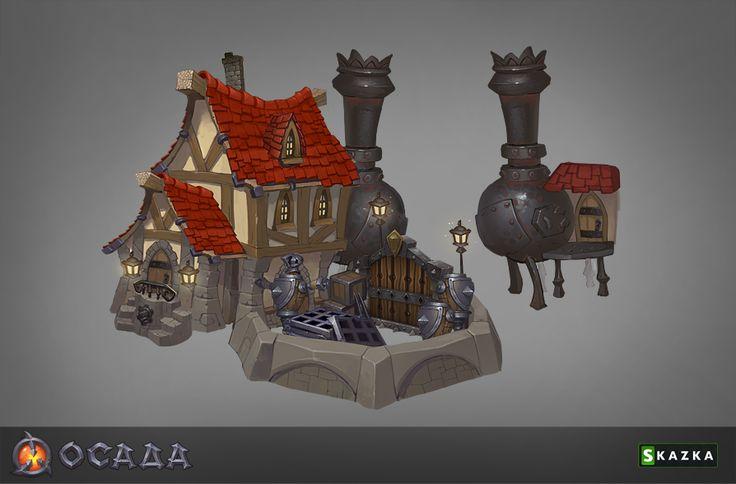 Siege. Workshop 3 by ~Gimaldinov on deviantART