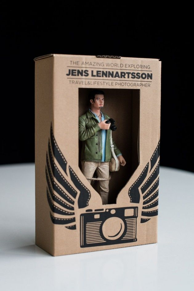 Genius Self-Promoter Creates Own Action Figure to Replace Traditional Business Card
