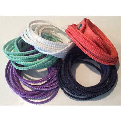 Wrap sparkle bracelets