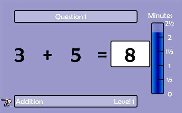 """""""Are You a Math Magician?"""" addition & subtraction game  (requires number keys and """"Enter"""" button to play)"""