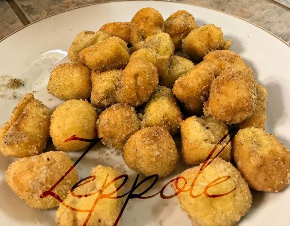 Zeppole Recipes And Ramblings With The Tumbleweed Contessa