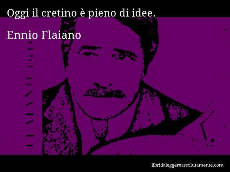 Cartolina con aforisma di Ennio Flaiano (112)