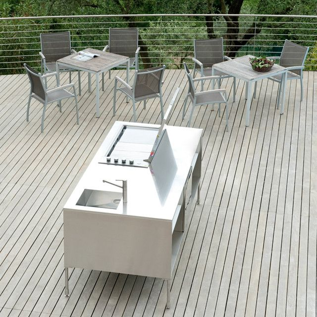 OUTDOOR KITCHENS by Arclinea. Available exclusively from Pure Interiors.