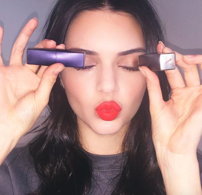 kendall jenner created her own lipstick