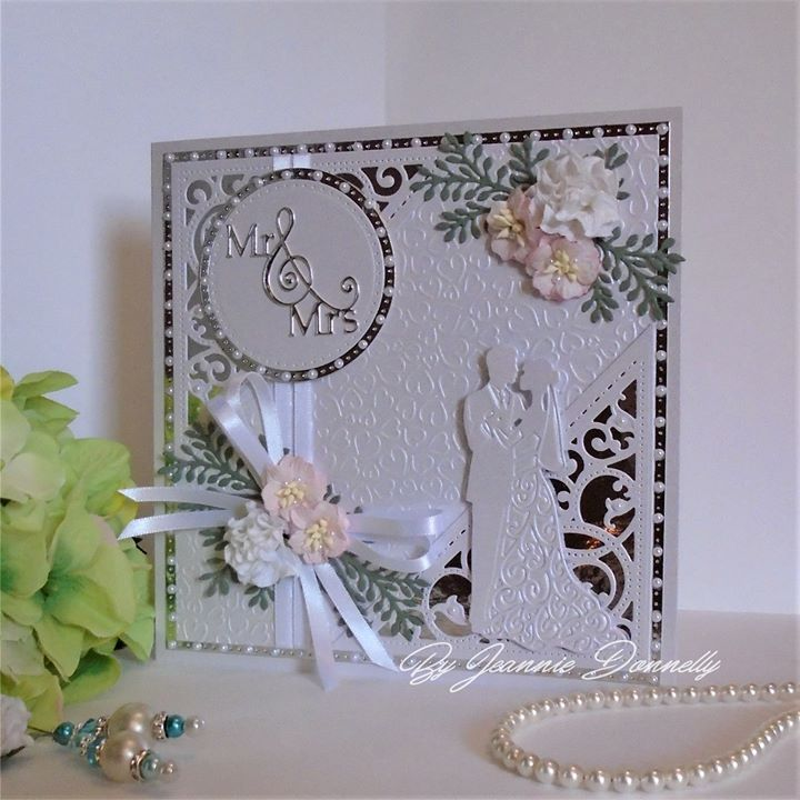 wedding anniversary card pictures%0A Anniversary Cards  Wedding Anniversary  Tattered Lace Cards  Sweet Hearts   Making Cards  Wedding Couples  Wedding Cards  Die Cutting  Cardmaking