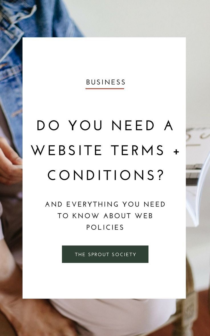 All About Website Policies Business Tips Need To Meet Business
