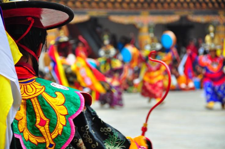 Punakha festival, Bhutan.