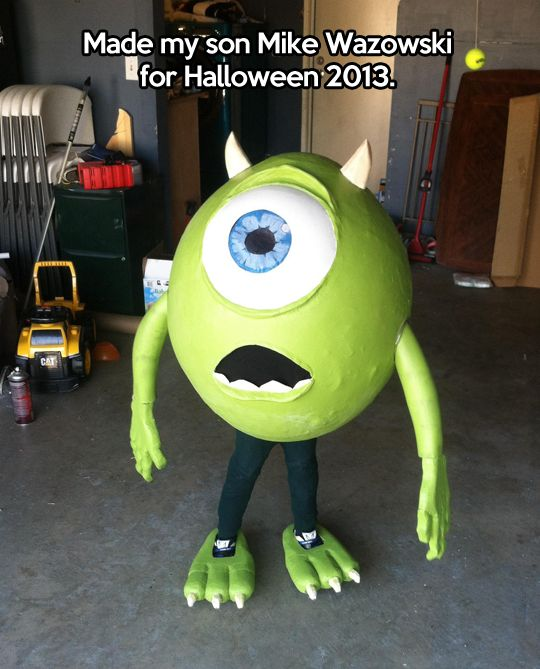 Mike Wazowski - Monsters Inc #Costume #2013