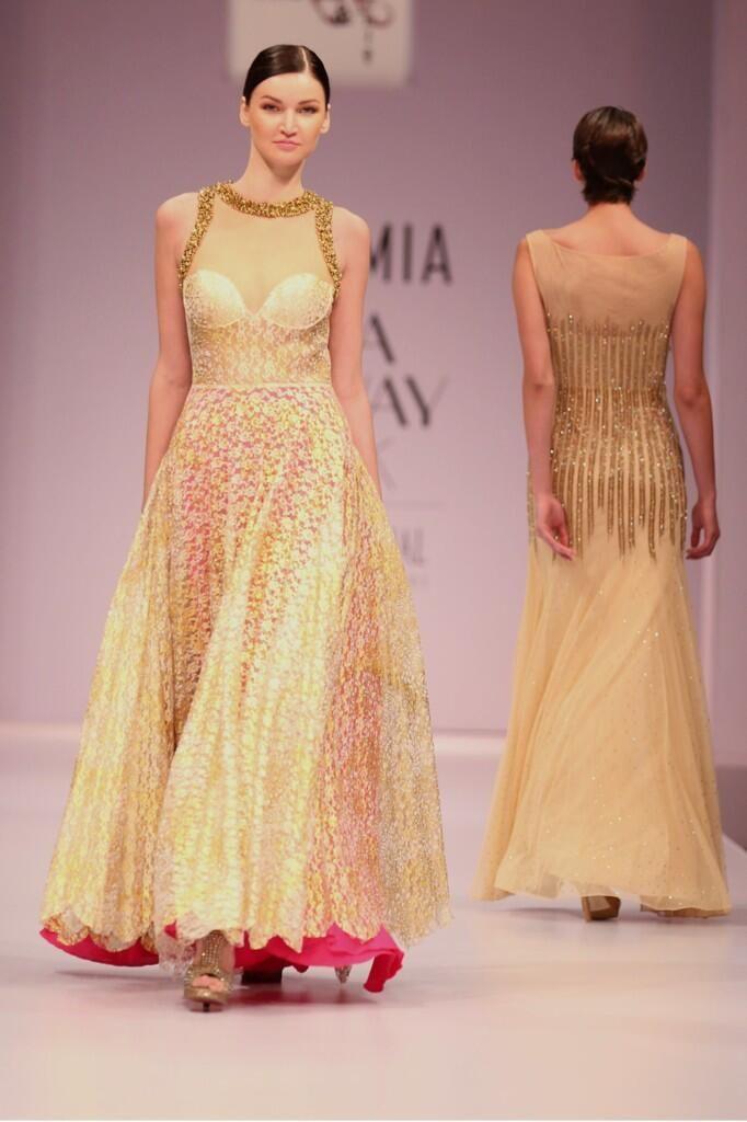 @PerfectWoman1 Eminent Fashion Designers showcase their collection at Premia India Runaway Week @Erika Boettger Kapoor