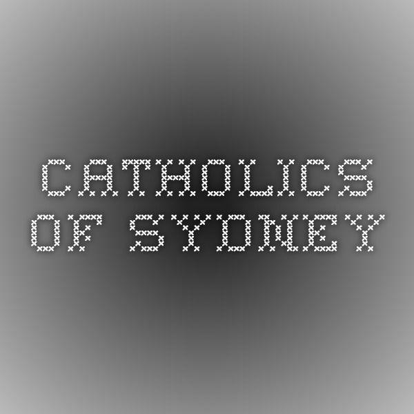 Sydney Catholic Archives