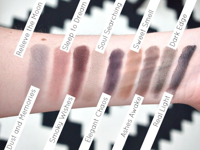 Swatches Zoeva