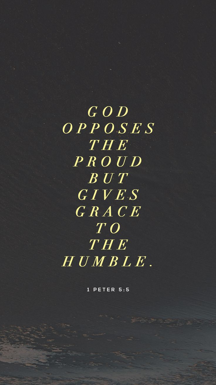 Humbling ourselves enough to honor those around us isn't easy. Ask God to help you recognize your own lack of humility, so that you can learn what it looks like to honor the people you encounter each day. Use this phone wallpaper as a reminder.