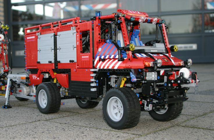 LEGO UNIMOG U400 Fire Truck
