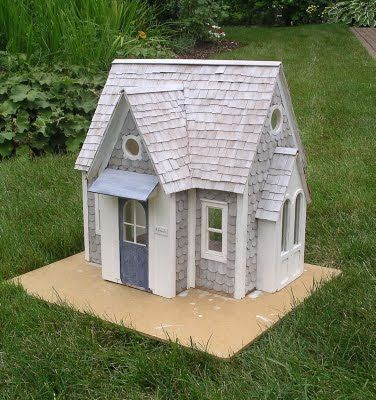 New England Miniatures Blog: Amos Gooch's Cottage - part 2