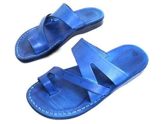 VENTA! Nuevas sandalias de cuero con tirantes. Zapatos para Mujeres y Hombres Chancletas Cintas Pisos Calzado de Diseñador Bíblico de Jesús Otro modelo hermoso de SANDALIM: Este hermoso par de sandalias es una de nuestras favoritas. ¡Son extremadamente hermosas, cómodas y muy