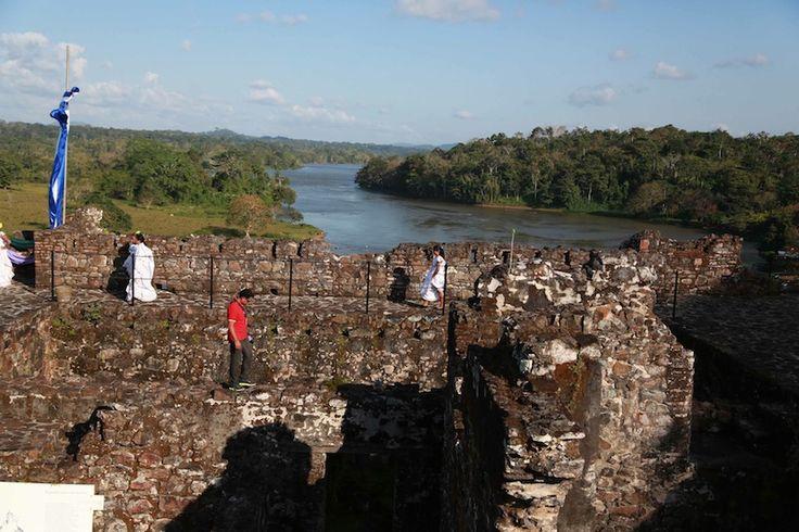 Bella vista desde el castillo A Nuestro Rió San Juan de Nicaragua