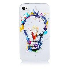 Gradvis Endre Pattern Silicone Soft case for iPhone4/4S