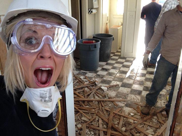 Kortney Wilson does NOT like mess!