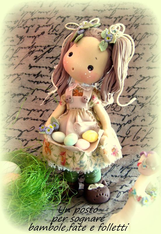 DOLL PORCELLANA FREDDA