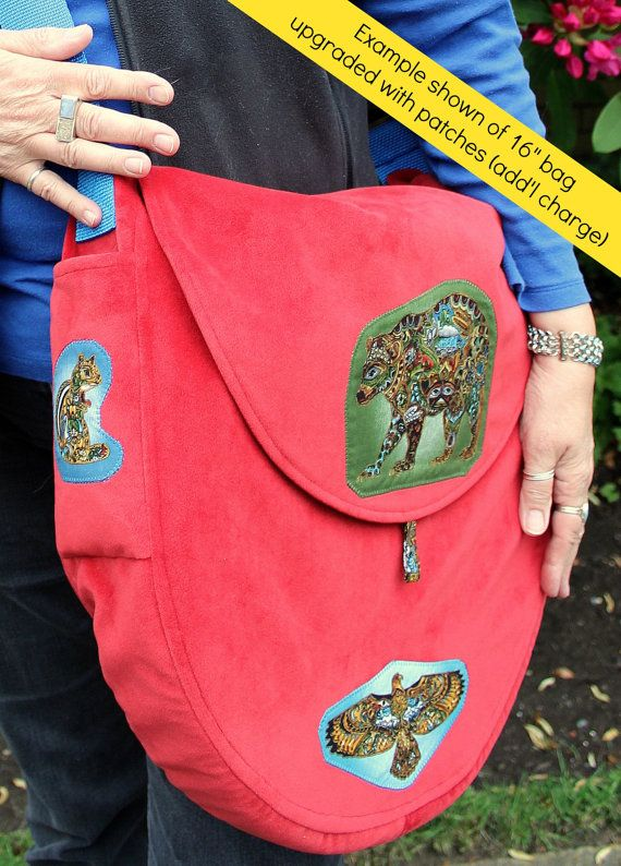 16 Custom Padded Shaman Drum Bag for hand drum by HeartBeatGoods