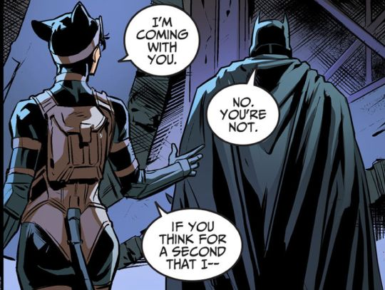 Injustice : Year 3 → Selina Kyle being hella protective over Bruce Wayne
