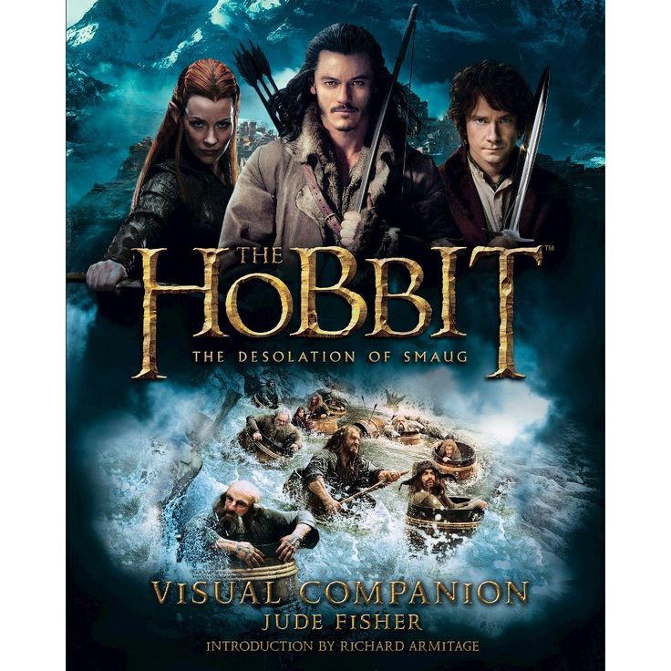 The Hobbit: The Desolation of Smaug Visual Companion by Jude Fisher (Hardcover)