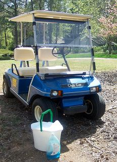 Tips for cleaning, repairing and replacing your golf cart windshield.   Find out what cleaners you should never use or you'll end up with a foggy windshield.