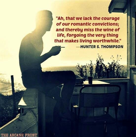 hunter s thompson too weird to The life of hunter s thompson has countless stories to draw from, and  to go off  on unexpected tangents, but there will be challenges too.