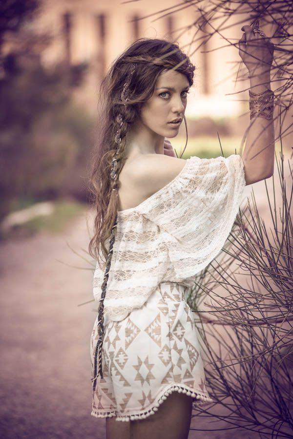 """Helen of Troy "" top & ""Memphis"" highwaisted shorts by nidodileda #nidodileda #clothing #bohemian"