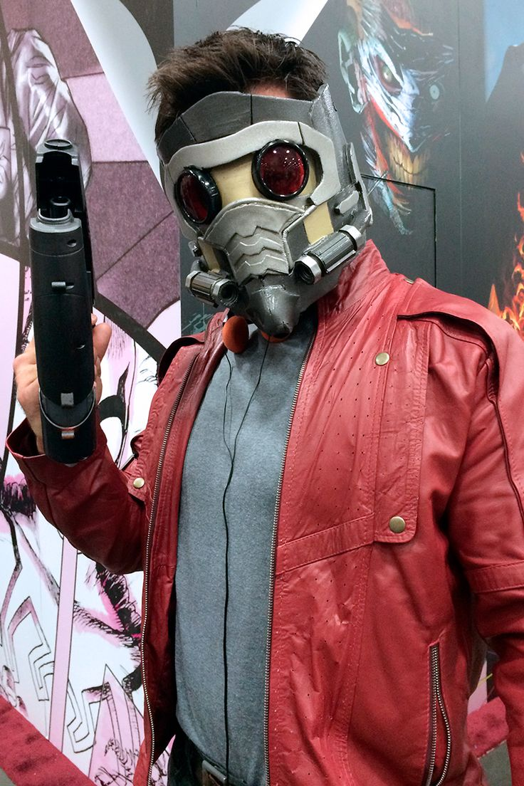 Star lord mask but we re loving this guardians of the galaxy cosplay