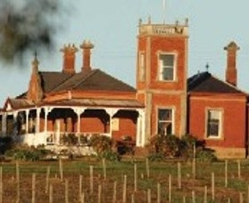 Mount Prior, one of the classic vineyards of Rutherglen.