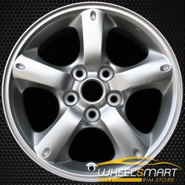 16 Mazda Tribute Oem Wheel 2005 2009 Silver Alloy Stock Rim 64879