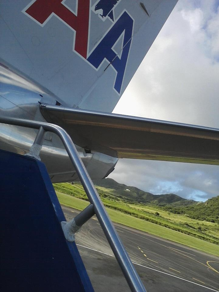 St Kitts airport