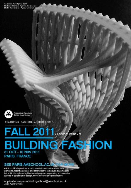 #buildingfashion_ aa school paris_ fall 2011 by Jorge Ayala | Ay_A Studio, via Flickr