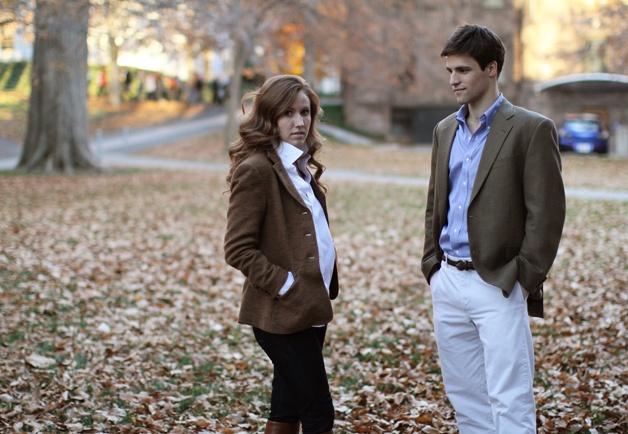 Gordon Von Steiner's Wandering Eye Shoots Princeton's Campus Style: Style: GQ