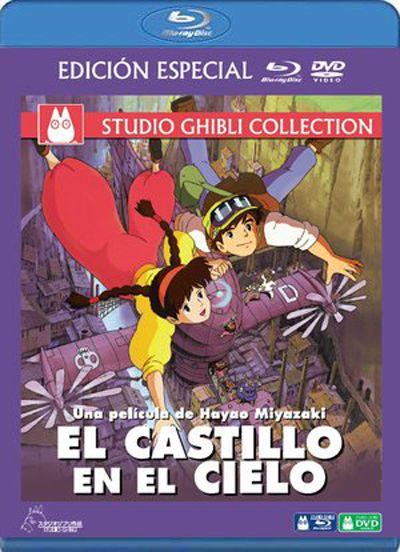 El castillo en el cielo (Formato Blu-Ray + DVD)