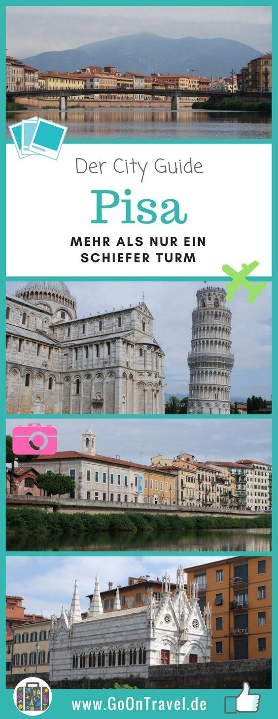 Bei der toskanischen Stadt Pisa denken die meisten sofort an den schiefen Turm. Natürlich ist er der Superstar in der Stadt und auf dem  Platz der Wunder. Aber die alte Seerepublik Pisa bietet noch viel mehr.  #Pisa #SchieferTurmPisa #SehenswürdigkeitenPisa #TippsPisa