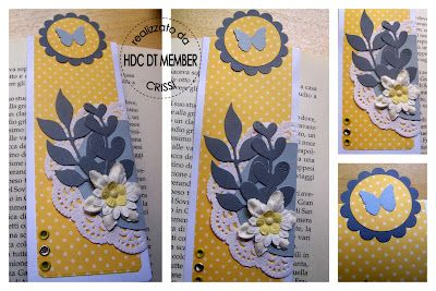 """Hobbies Charter - The Blog: And scrapbooking VINCI: """"Color Palette"""" by Crissi and winner of the month of April."""