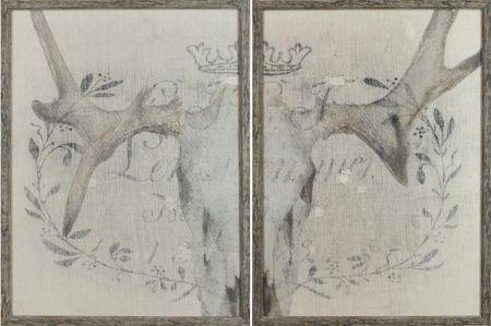 15193 - Crane et Lin Diptych