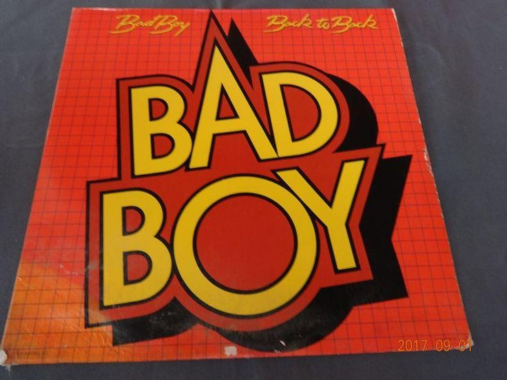 Bad Boy - Back to Back 33 Record