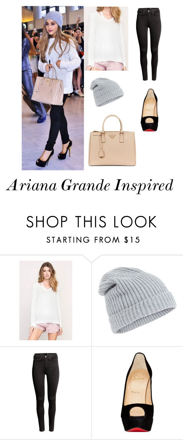 """Ariana Grande Inspired"" by gcdonuts on Polyvore featuring RVCA, Accessorize, H&M and Christian Louboutin"