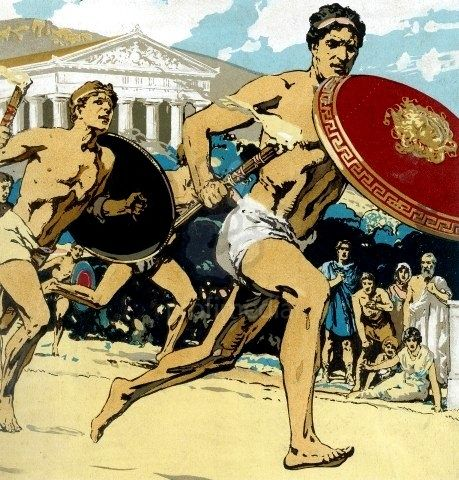 Glaucus of Carystus, the son of Demylos, was a boxer and one of the most celebrated Ancient Greek athletes.[1] He was a περιοδονίκης (winner at all most important games of Ancient Greece), having gained one Olympic, two Pythian, eight Nemean, and eight Isthmian victories in boxing.