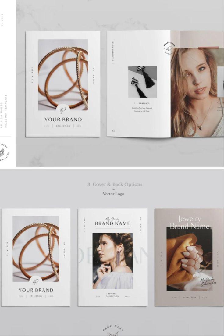 A5 Jewelry Fashion Lookbook Catalog