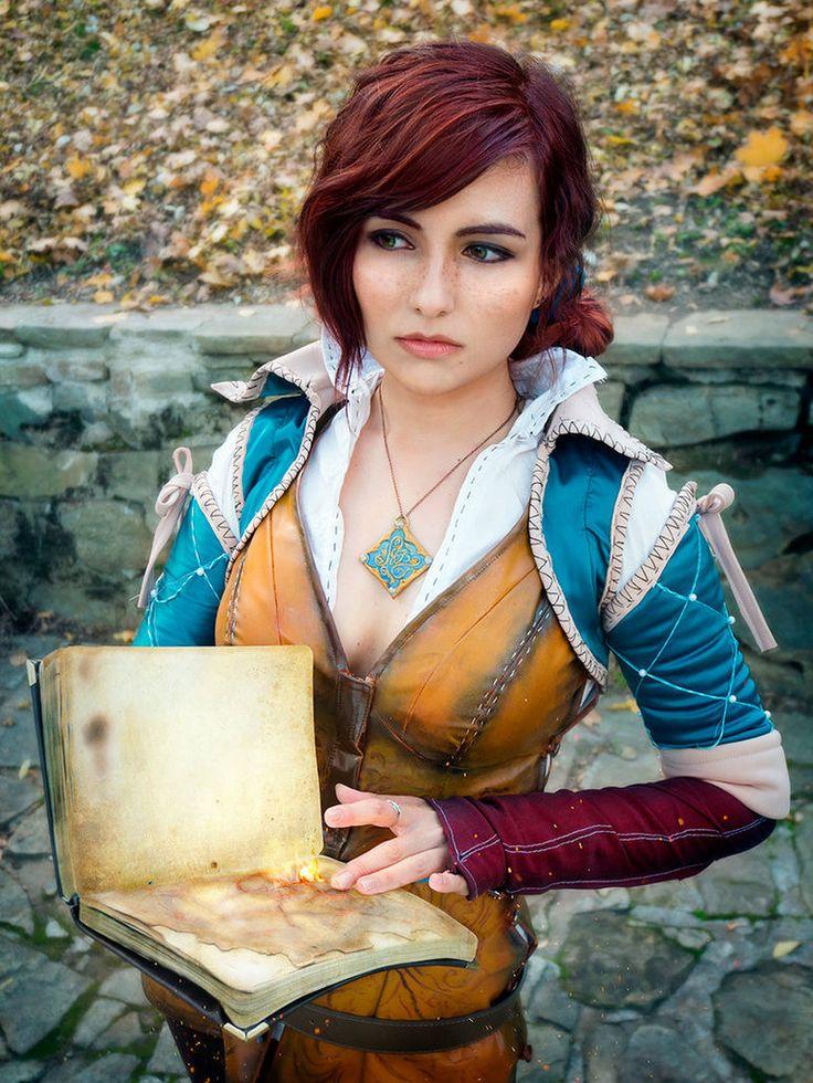 Fandom Witcher Character Keira Metz Cosplayer Lyumos Photo -8372
