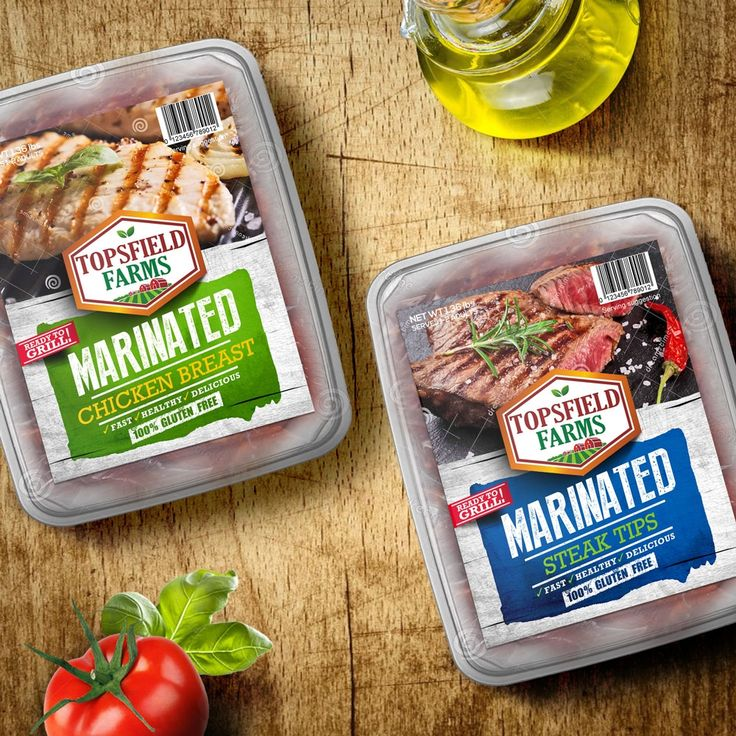 Design #99 by tomdesign.org | Create new packaging label for national marinated meats brand