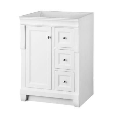 Create Photo Gallery For Website Foremost Naples in W Bath Vanity Cabinet Only in White with Left Hand Drawers